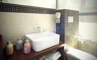Wizualizacja łazienki, umywalka