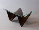 ławy ze szkła