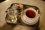 herbata na tacy