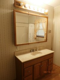lustro w łazience