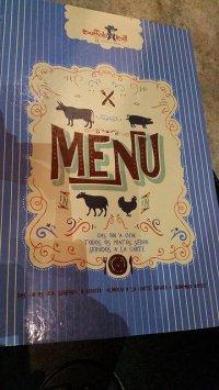 karty menu restauracji Decorest