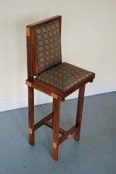 wysokie krzesło