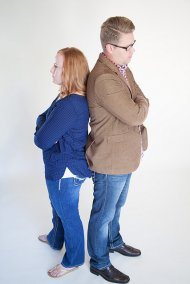 rozwodząca się para