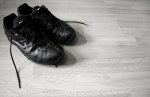 czarna para butów