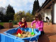 piaskownica, zabawki do piasku