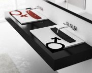Umywalka z serii Tatoo